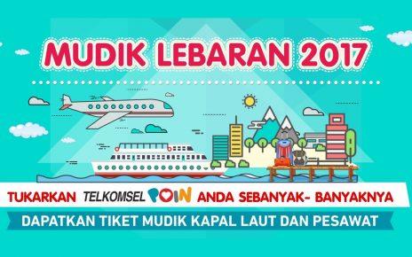 Mudik Gratis Lebaran 2017 Telkomsel