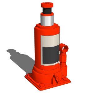 Jenis Dongkrak Mobil dan Fungsinya : Jenis Dongkrak Botol (Botle Jack)