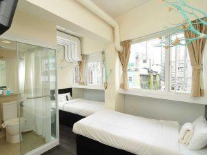 Hotel di Tsim Sha Tsui, Kowloon : Hop Inn on Hankow & Hop Inn on Carnarvon