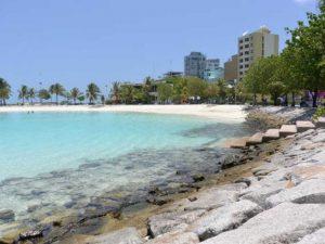 Obyek Wisata di Maldives (Maladewa) : Artificial Beach