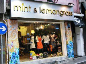 Belanja di Hong Kong Island Daerah SoHo dan NoHo Mint & Lemongrass