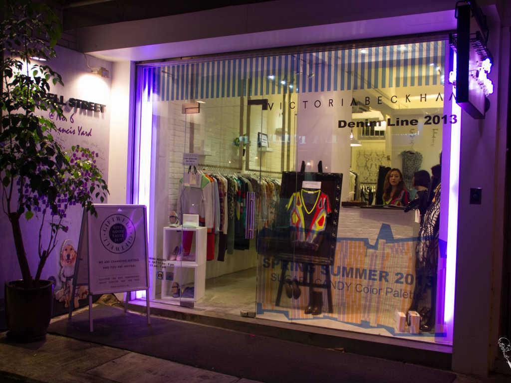 Belanja di Hong Kong Island Daerah Wan Chai Russell Street