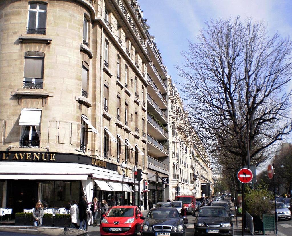 Tempat Belanja Terbaik di Paris : Avenue Montaigne