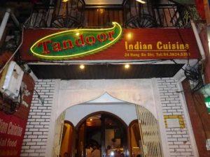 Restoran Halal di Hanoi, Vietnam : Tandoor Restoran