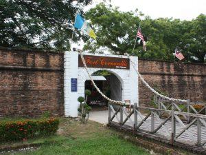 Wisata di Penang, Malaysia : Fort Cornwallis