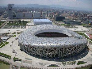 Obyek Wisata di Beijing : Gedung Olimpiade Bird Nest Stadium