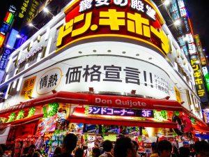 Tempat Belanja Oleh-Oleh Recommended di Tokyo : Don Quijote
